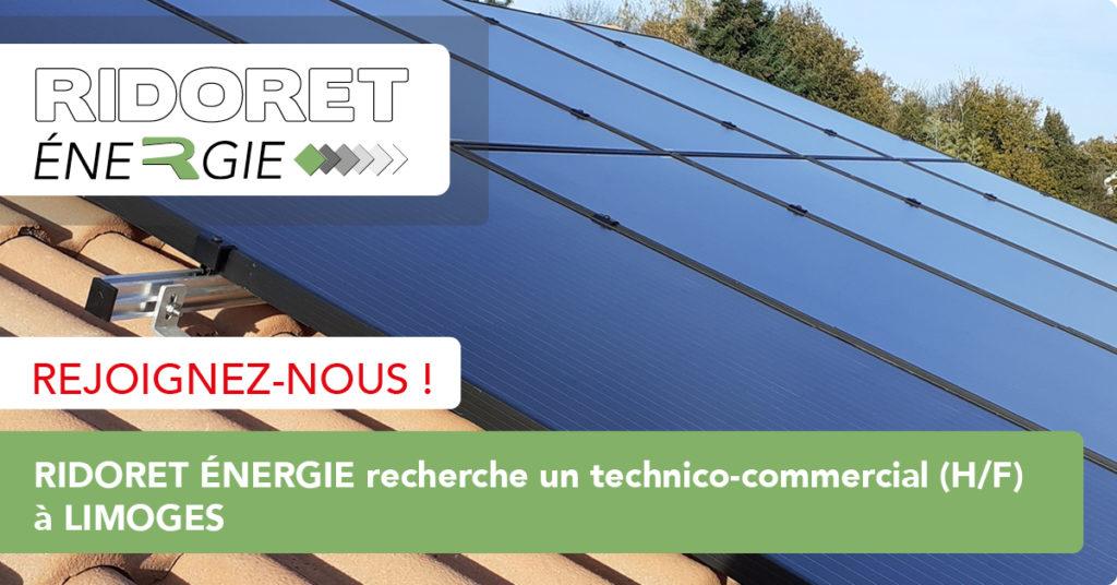 panneaux photovoltaïques - Ridoret énergie
